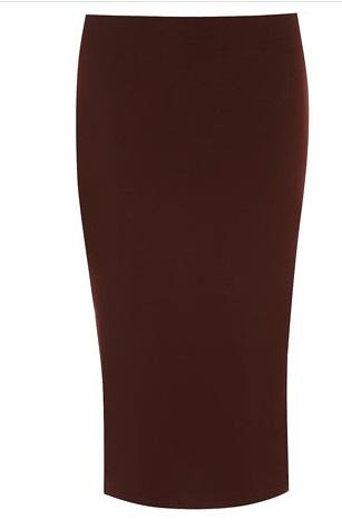 fig, purple skirt, pencil skirt, Mackenzie McHale, newsroom,  office chic, fashion, workwear