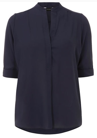 navy shirt, blouse, blue shirt, workwear, office, chic, style, fall fashion