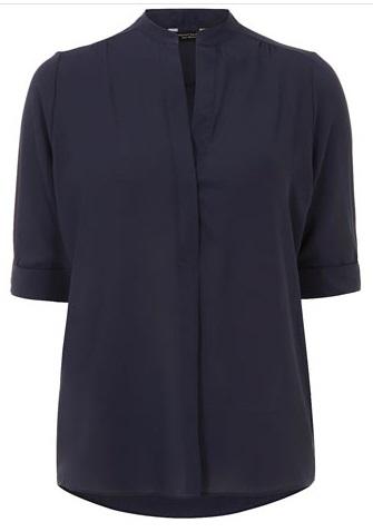 navy shirt, blouse, blue shirt, workwear, office, chic, style, fall fashion