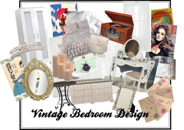 Vintage Bedroom Design