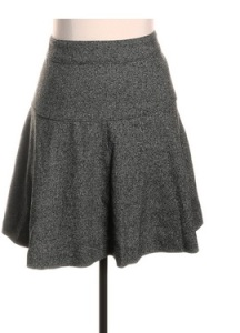 Banana Republic Tweed Skirt, Twice, $17.95