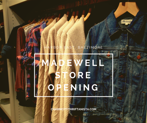 Madewell store opening header