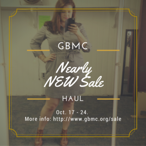 GBMC Nearly New Instagram graphic