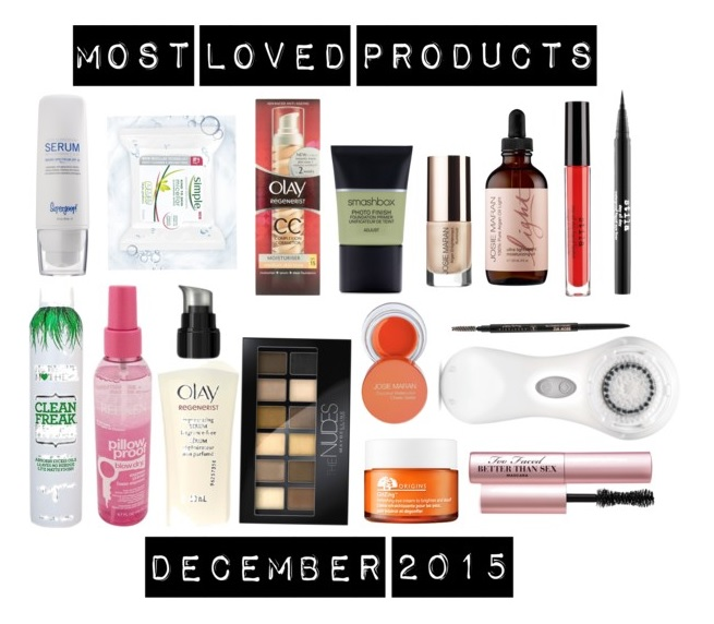 Most Loved Products: December 2015