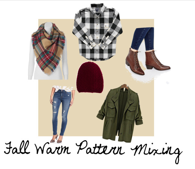 Fall {Warm} Pattern Mixing