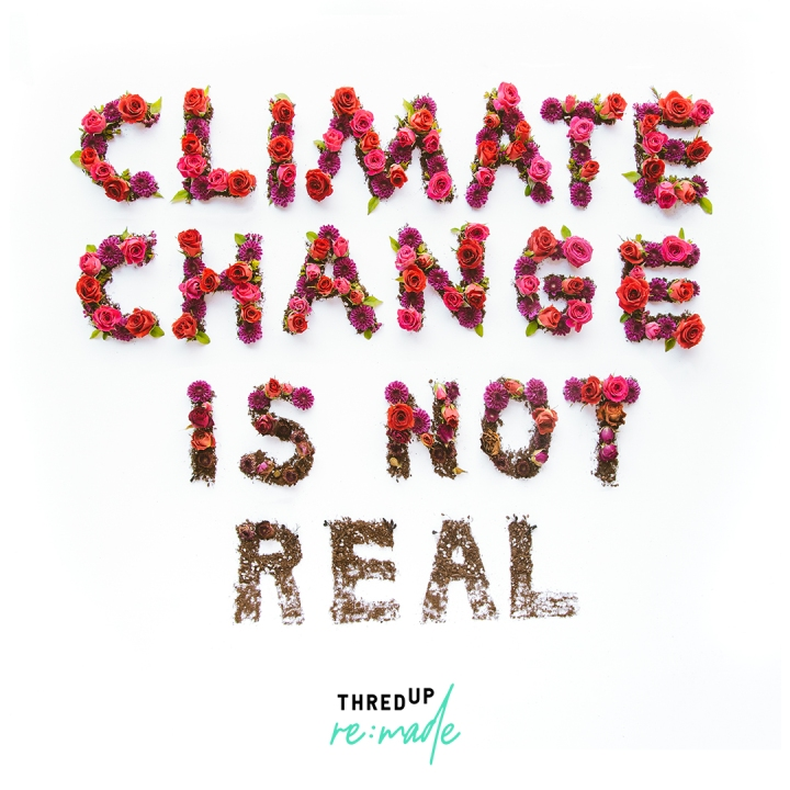Climate Change is Real and these T's knowit