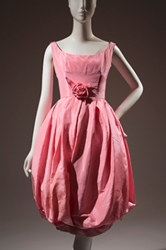 Christian Dior, dress, 1960, France, museum purchase.