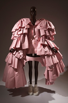 "Comme des Garçons, ensemble, fall 2016, ""18th-Century Punk"" Collection, fall/winter 2016, Japan, museum purchase."